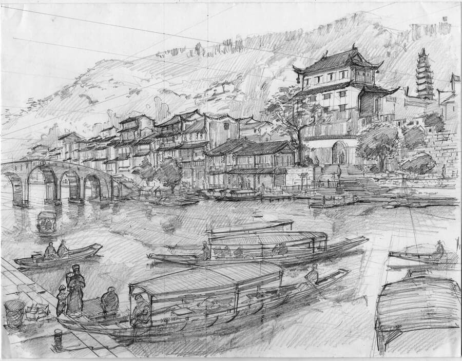 15-Chinese-arch-style-1-Longque-Chen-www-designstack-co