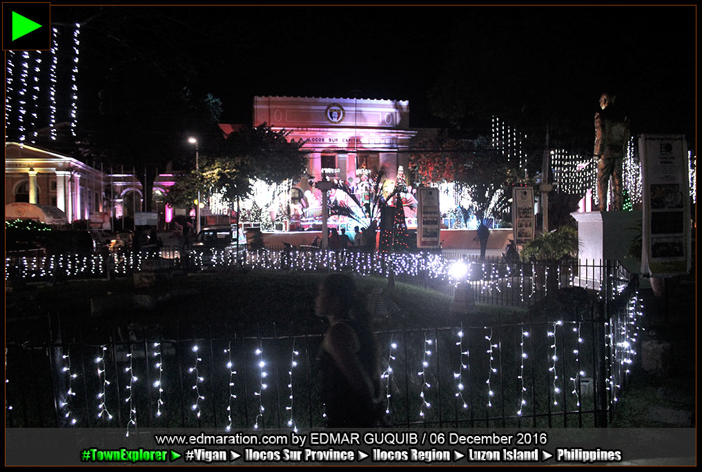 ILOCOS SUR CAPITOL CHRISTMAS TREE, DECORATIONS
