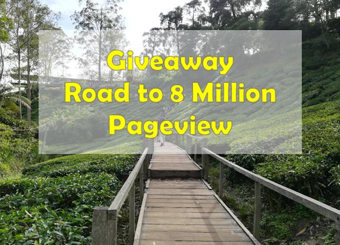Senarai Peserta Giveaway :: Road to 8 Million Pageview