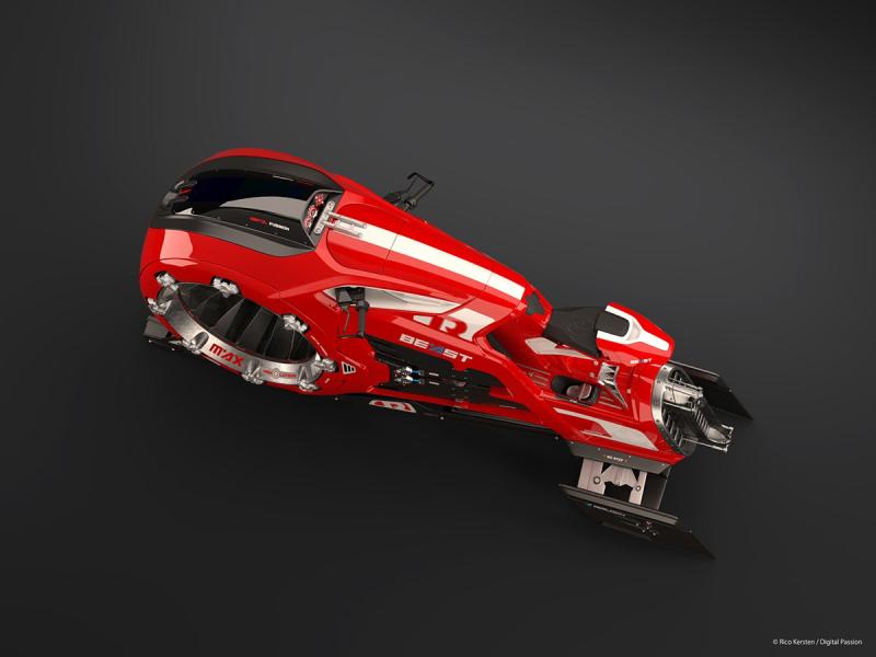 concept jet bike