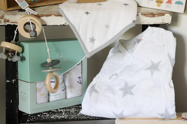 Baby Wunschliste Kind 2 Musselin Body bellybutton Mobile Wolken aden und anais tausendkind Jules kleines Freudenhaus