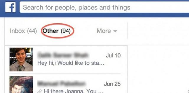 """Facebook tiene una bandeja de mensajes """"secreta"""". Lo sabías?"""