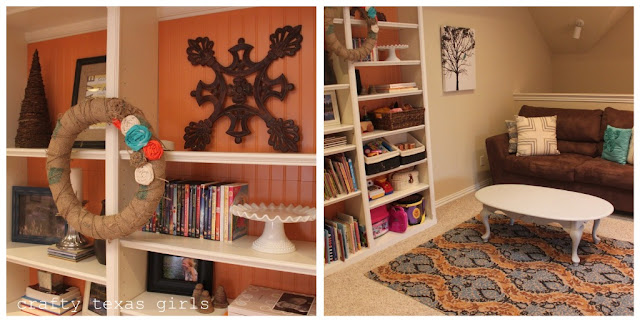 Remodelaholic Play Room Updated To A Colorful Family Room