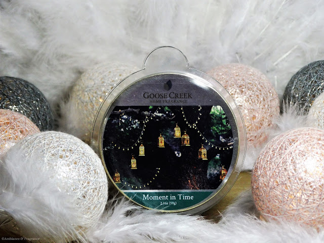 Avis Moment in Time de Goose Creek, blog bougie, blog parfum, candle review