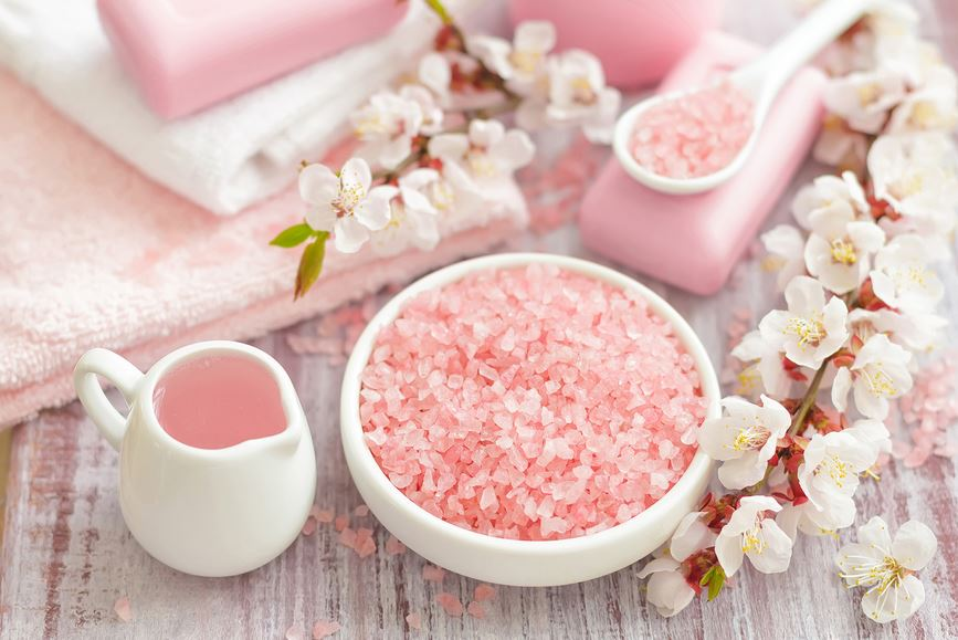 DIY natural bath salts recipe
