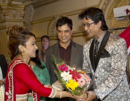 jharana bajracharya, rajesh hamal and madhu bhattarai wedding