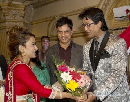 jharana bajracharya, rajesh hamal and madhu bhattarai wedding