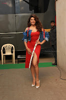 Jacqueline Fernandez Spicy Bollywood Actress in Red Dress Spicy  Exlcusive Gallery Pics (17).JPG