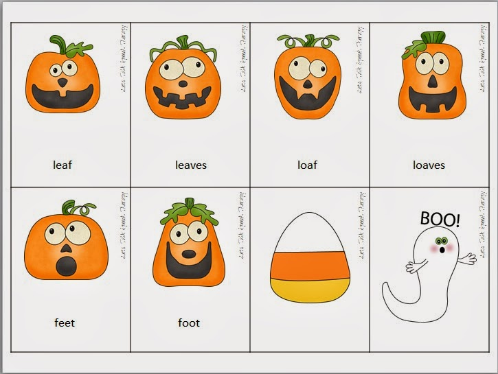 Boo! A scary-fun expressive language packet{plus a giveaway