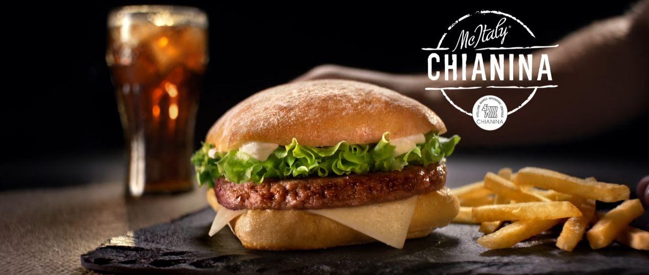 Canzone McDonald's pubblicità McItaly con Hamburger Chianina - Musica spot Novembre 2016