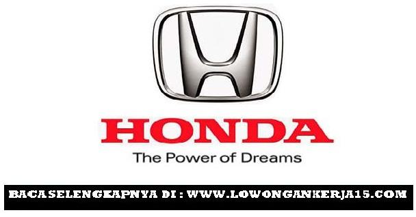 Lowongan kerja Honda Prospect Motor