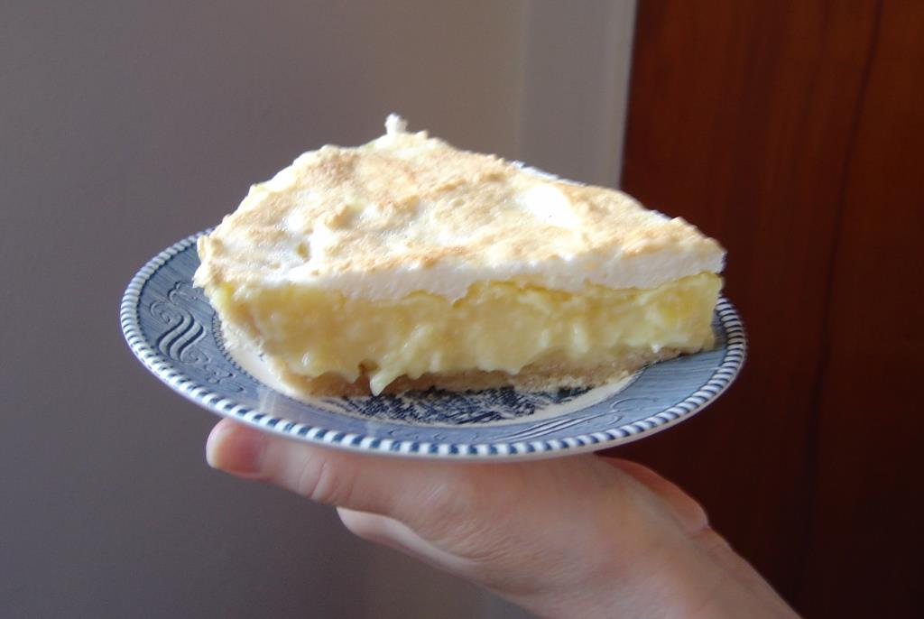 A Piece of Pineapple-Cream Pie Image