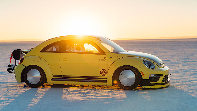 New speed record for specially prepared Beetle LSR