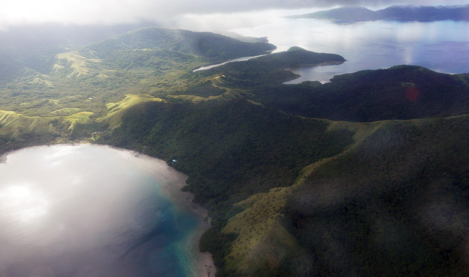 Euriental | luxury travel & style | view of Fiji from above