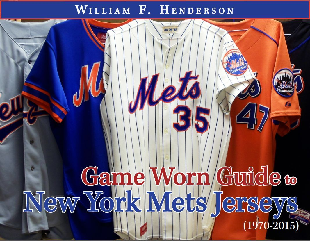 official photos aed10 3480a Game Worn Mets Jersey Guide