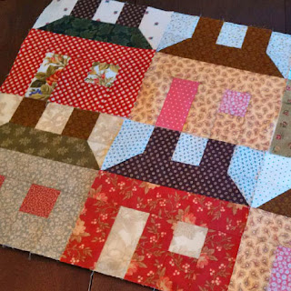 house blocks: QuiltBee