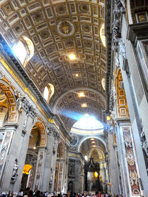 Interior of St Peter's Basilica, Vatican City State | Rome, Italy