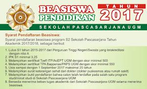 Beasiswa S2 Dalam Negeri Universitas Gadjah Mada