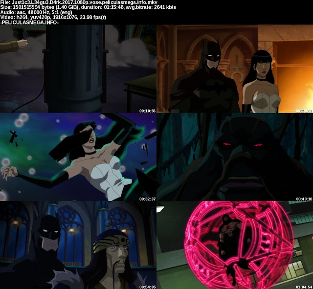 Descargar Justice League Dark Subtitulado por MEGA.