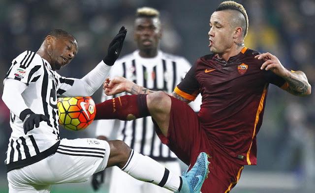 Radja Nainggolan dalam pembaharuan kontrak baru bersama Roma