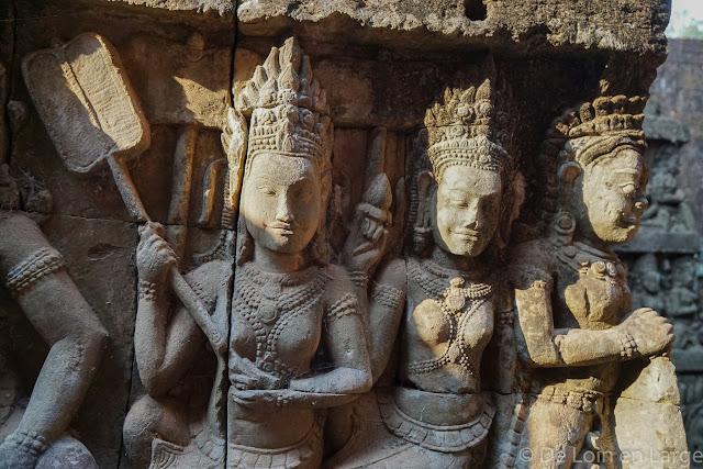 Terrasse du Roi Lepreux - Angkor - Cambodge