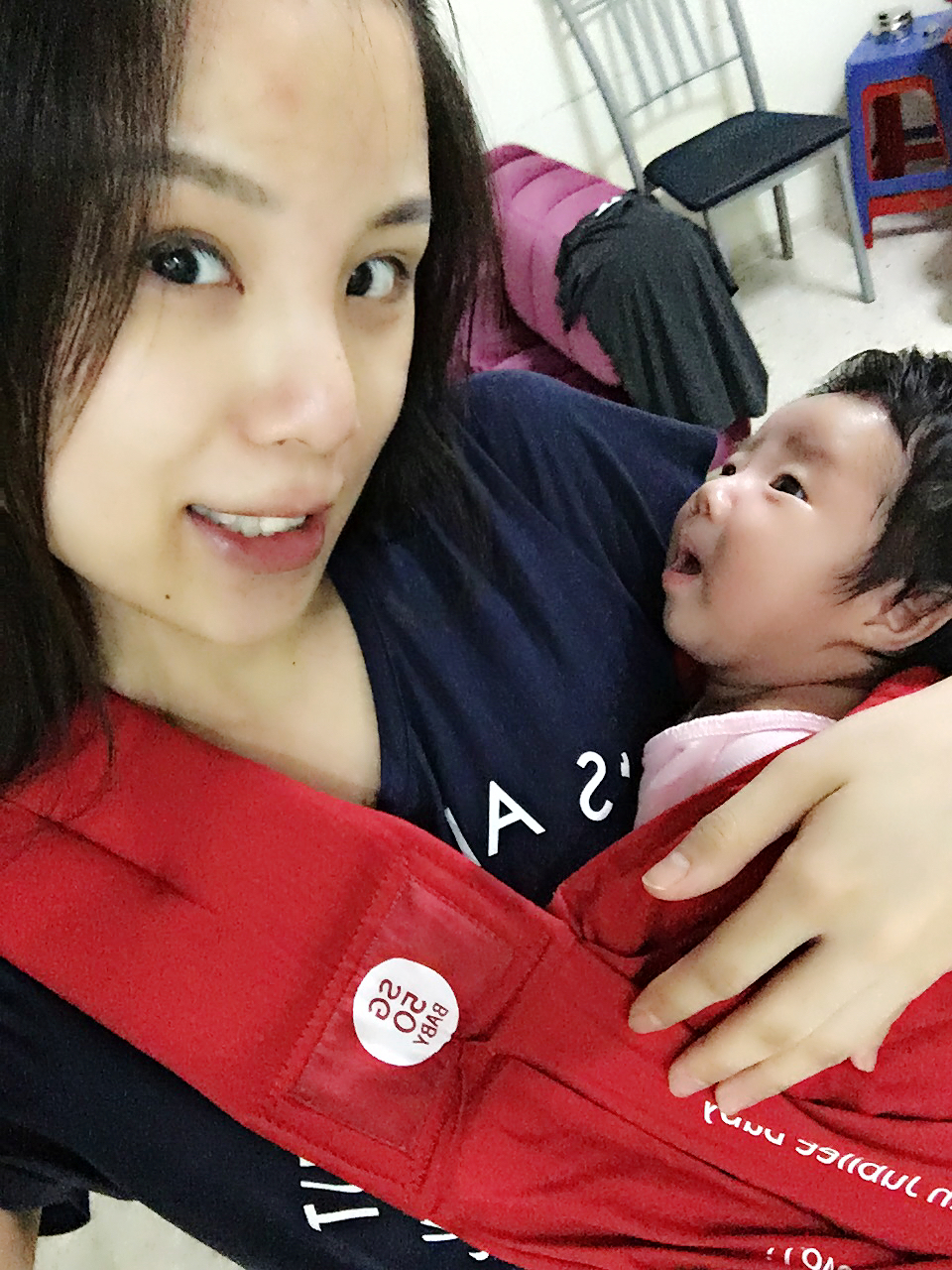 Vanny S Telling Everything Baby Wearing Baby Carriers Vs Slings