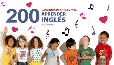 200 canciones infantiles para que los niños aprendan inglés