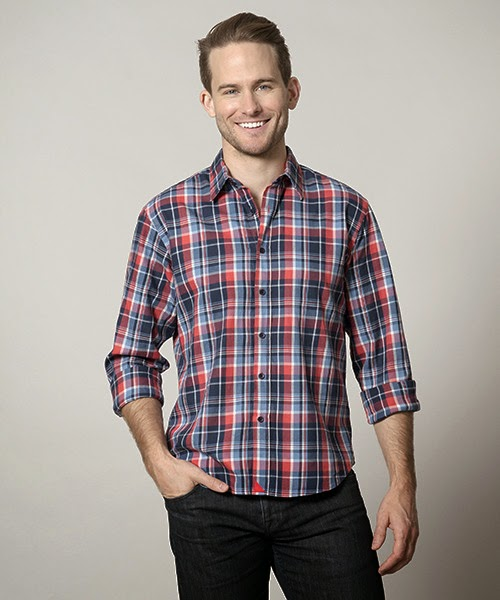 Nebbiolo plaid shirt