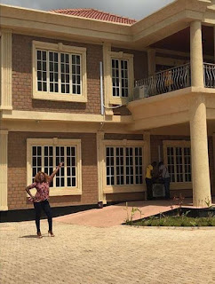 Photos of Funke Akindele's New Multi-Million Naira Home