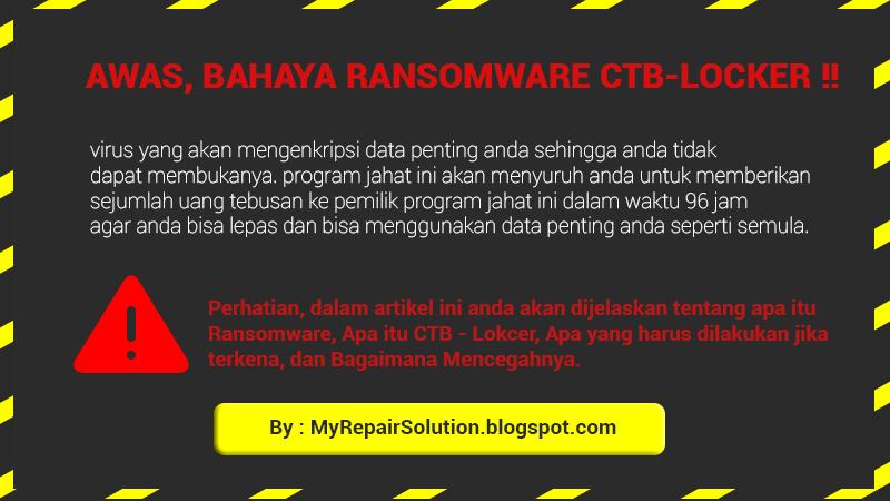 kenali bahaya CTB locker
