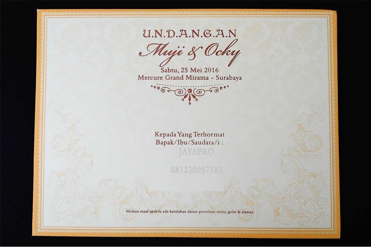 undangan pernikahan semi hardcover murah ev18 | undangan ...