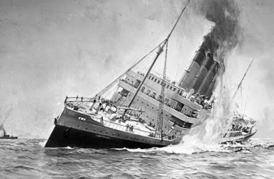 Kapal Laut  AS Lusitania