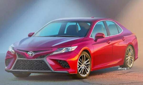 Honda Accord And 2018 Toyota Camry Both Offer Up Sporting Looks