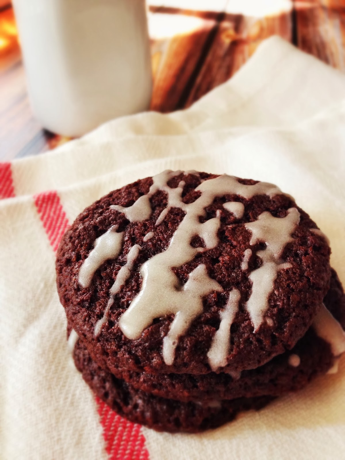 Nutella Chocolate Cookies