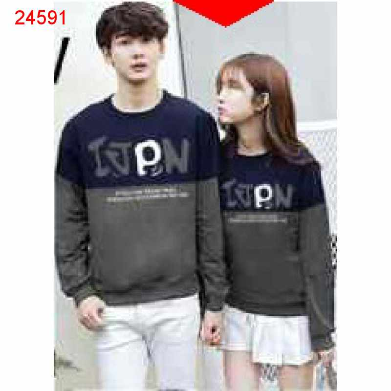 Jual Sweater Couple Sweater IJPN Navy - 24591