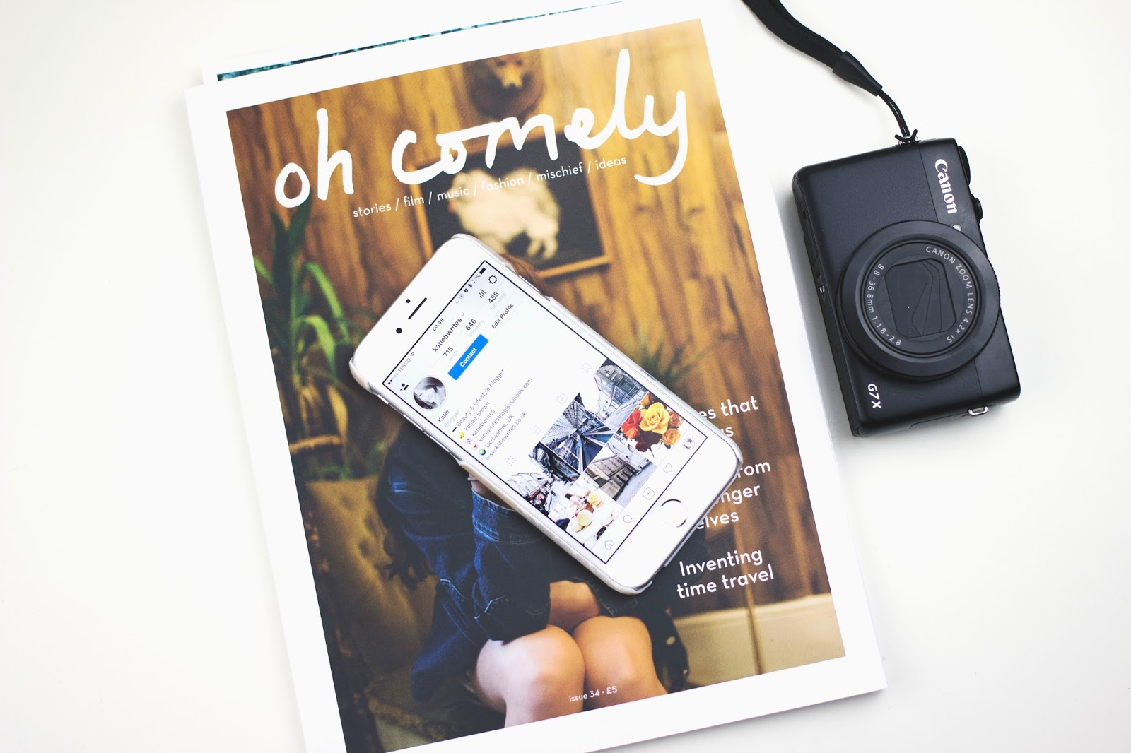 Instagram Tips, Instagram, Oh Comely Magazine, Katie Writes,