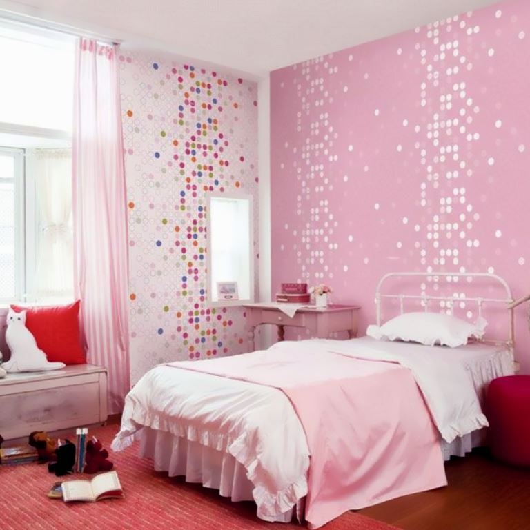 Pink Decorating Ideas Girls