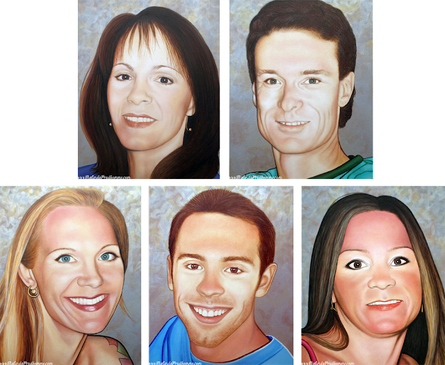 Portrait, Portrait Painting, Portrait Art, Portrait Artist, Toronto Portrait Artist, Canadian Portrait Artist, Malinda Prudhomme, Family Portraits, Custom Family Portraits, Custom Portrait, Custom Painting, Toronto, Canada, Sudbury