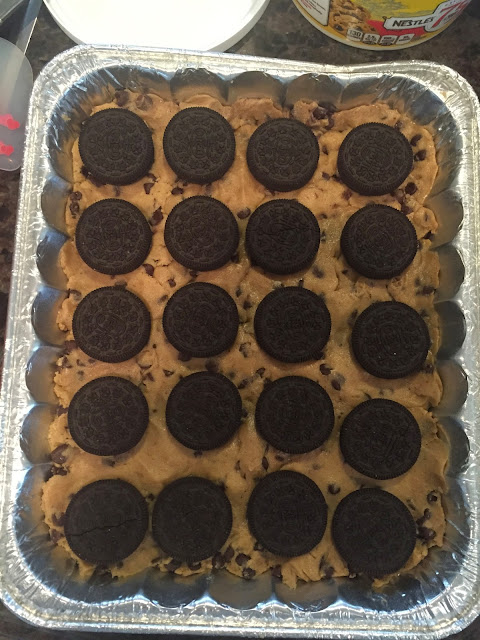 oreos, chocolate chip, cookies, brownies
