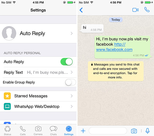 How to Auto reply WhatsApp Messages