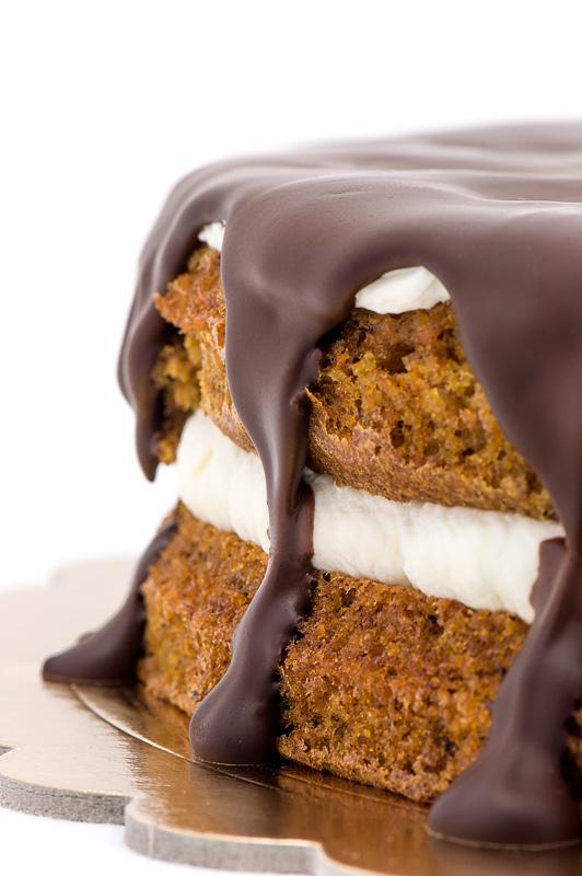 Carrot chocolate cake no gluten - korenčkova torta čokolada od blizu