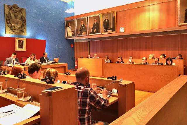 Sesión de presupuestos del Ayuntamiento de Barakaldo