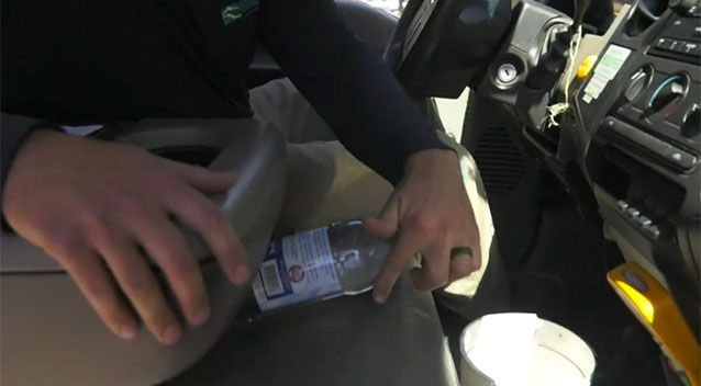 Do Not Leave More Bottles Of Water In Your Car! It's Dangerous