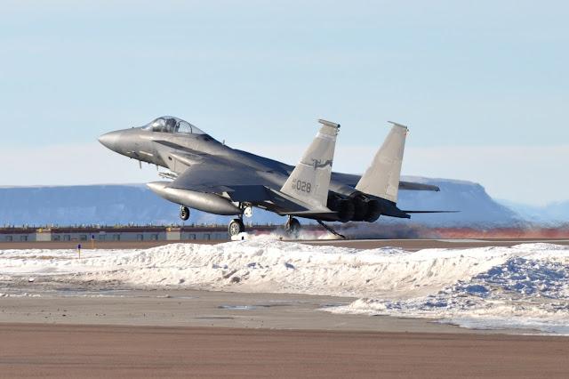 McDonnell Douglas F-15C Eagle Landing