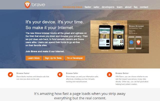 تصفح المواقع بشكل أسرع مع المتصفح Brave