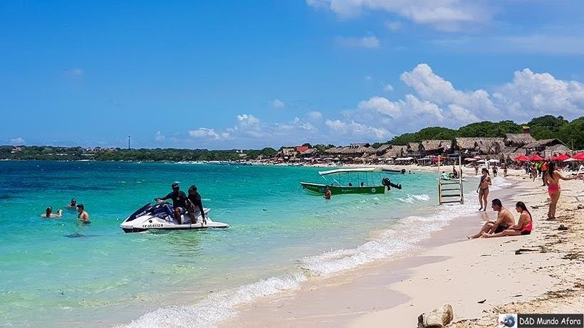 Jet Ski na Playa Blanca na Isla Baru - Diário de bordo: 4 dias em Cartagena