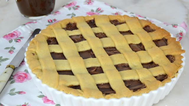 Tarta de chocolate con masa casera fácil