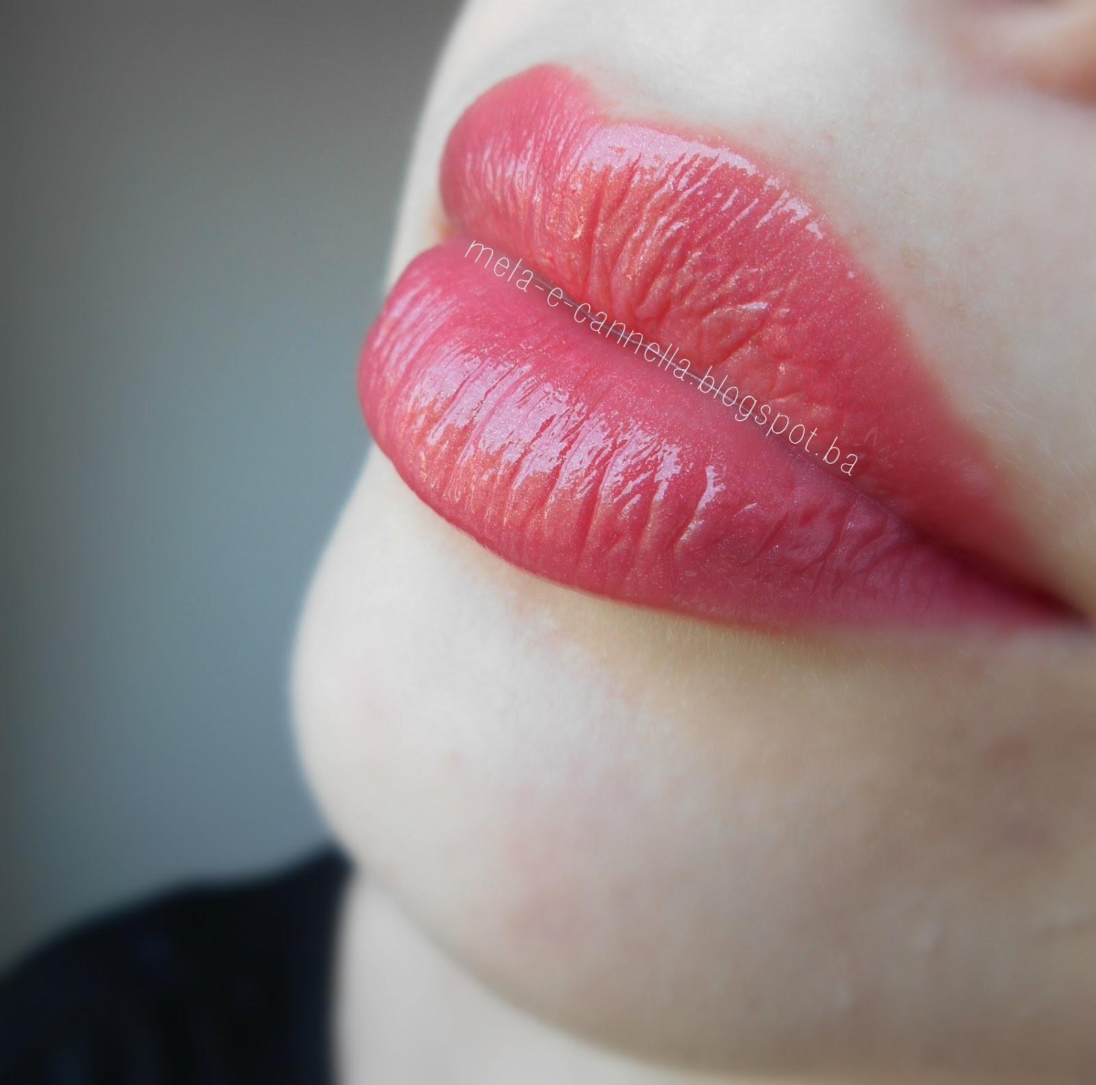 mela-e-cannella  avon - shine burst lipstick