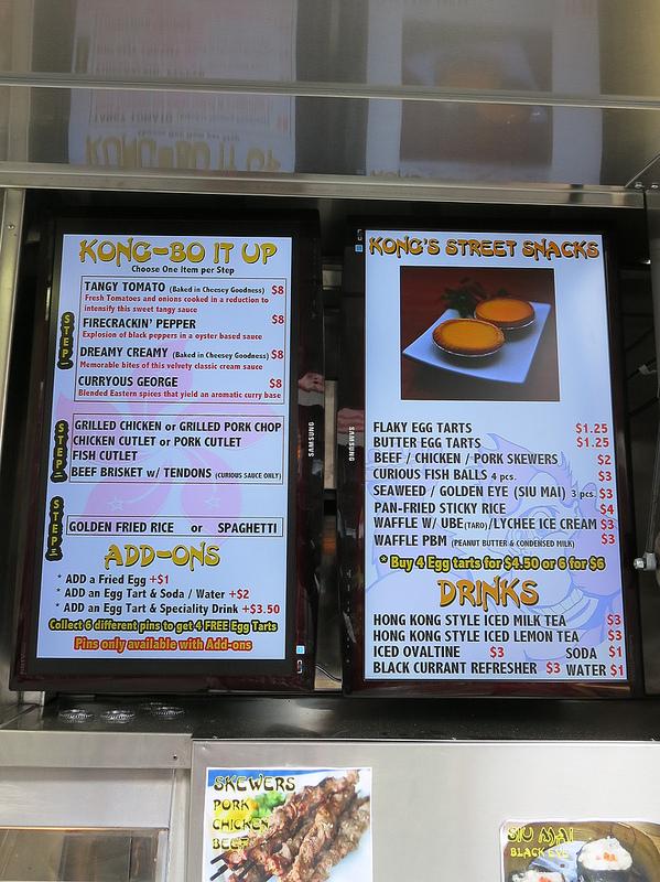 Mobile Mai S Food Truck Menu