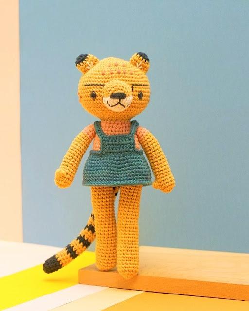 amigurumi tiger crochet pattern
